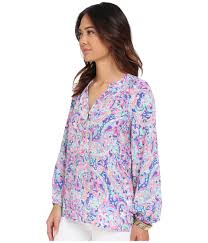 Lilly Pulitzer Swell Lilly Pulitzer Elsa Top Lyst