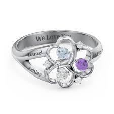 mothers ring mothers rings personalizable and engravable jewlr