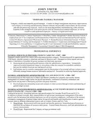 Accountant Resumes Examples by Click Here To Download This Payroll Manager Resume Template Http