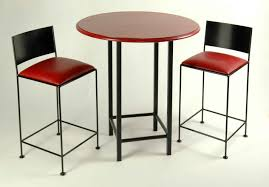 bar top table and chairs long rectangular high top bar table and upholstered stools with