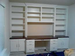 Built In Office Desk Office Desk Built In Office Desk Cabinets With Custom Cabinet