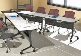 flip top office tables v shaped conference table configured from portable flip top