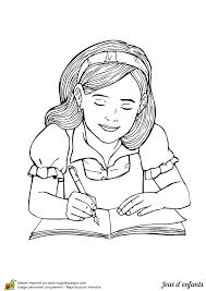 coloriage jeux d u0027enfants ecriture