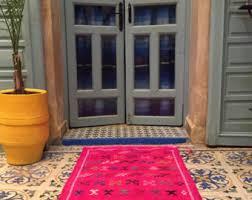 Handmade Moroccan Rugs Pink Moroccan Rug Etsy