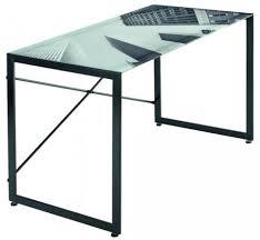 plateau verre bureau bureau avec plateau en verre bureau plateau en verre conforama se