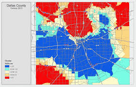 Map Dallas Texas by Income Distribution In Dallas County Tx Kevin Wisher