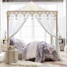 Bed Canopy Casual Boho Canopy Pbteen