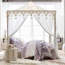 Boho Bed Canopy Casual Boho Canopy Pbteen
