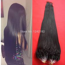 micro ring extensions hot sale micro loop ring hair extension indian hair micro ring