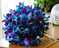 blue and purple orchids artificial purple flowers wholesale chuck nicklin