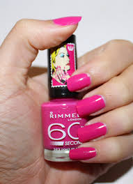 beyond blush rimmel london x rita ora 60 seconds nail polish in