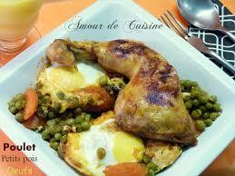 cuisiner les petits pois tajine de poulet aux petits pois et aux oeufs amour de cuisine