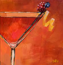 martini godard cosmopolitan painting by sue darius