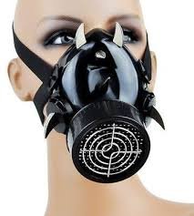 Gas Mask Halloween Costume Respirator Gas Masks U2013 Dysfunctional Doll