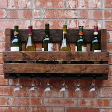 wine rack wall mounted wine rack wood wood wine bottle holder