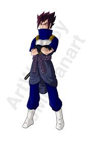 sageta vegeta sasuke fusion version jmbfanart