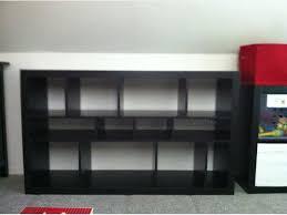 Ikea Kallax Bookcase Room Divider Ikea Expedit Kallax Black Brown Bookcase Room Divider Central