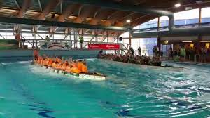 Schwapp Bad Mindener Drachenboot Indoor Cup Im Melitta Bad Youtube