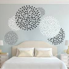 Beautiful Wall Accent Decals Bedroom Wall Stencils Removable - Wall design decals