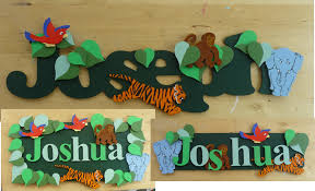 unique name plates name plate woodenwordart