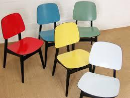 Esszimmerst Le K N Orig Lübke Stuhl Blau Chair Chaise 1 4 Stühle Dining Chair 50er