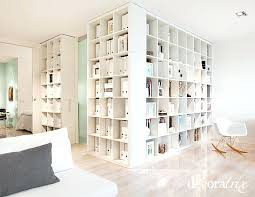 bookcase using bookcases as room dividers diy bookshelf room