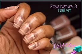 nail a college drop out zoya naturel 3 nail art