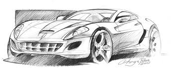 ferrari sketch by chrysroos on deviantart