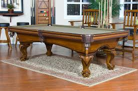 Hybrid Dining Pool Table  Or  Foot Slate Executive Pool Table - Combination pool table dining room table