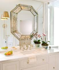 Mirror In A Bathroom Unexpected Mirrors In Bathrooms Little Green Notebook