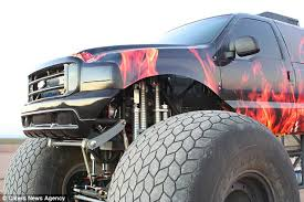 sin hustler monster truck sale eye watering 1