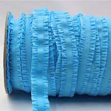 crochet elastic ribbon 1616223 16mm solid crochet flower fold elastic ribbon 5 yards