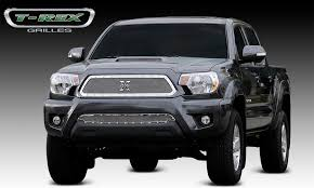 toyota tacoma 2004 accessories t rex toyota tacoma x metal series studded grille
