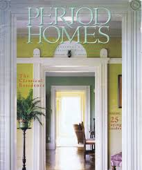 Period Homes And Interiors Magazine James S Collins Architect Greensboro Nc Recognition