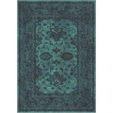 Bright Colored Area Rugs Orian Rugs 7 X 10 Area Rugs Rugs The Home Depot