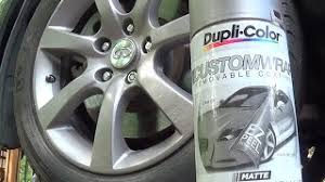How To Spray Paint Your Car - how to paint your rims with spray cans honda activa 3g