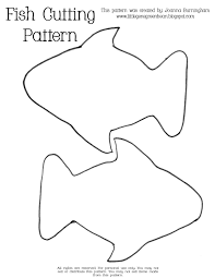 line drawings fish cut out template new on photography animal