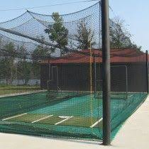 Cheap Backyard Batting Cages How To Build A Batting Cage Frame Gardening And Outdoor Ideas