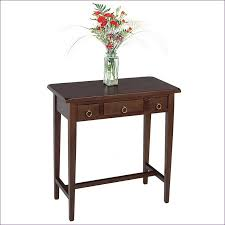 Foyer Accent Table Furniture Awesome Dark Wood Console Table Sale Half Moon Accent