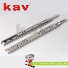 kav stainless steel ball bearing drawer slides for refrigerator 38width stainless steel ball bearing slide