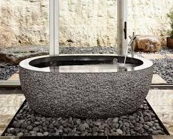 Stone Freestanding Bathtubs 20 Bathroom Designs With Stunning Stone Tubs