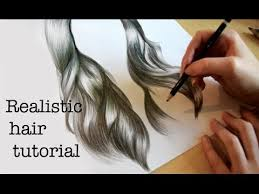 emily u0027s tutorials how to draw realistic hair youtube