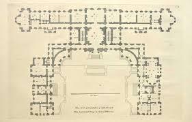 floor plan of castle howard england plans pinterest castle