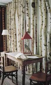 birch tree decor birch trees with bookshelf birch birch branches and corner