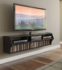 Wall Mounted Entertainment Shelves Flat Screen Tv Wall Mount Shelf Ebay