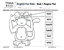 english for kids esl kids exam worksheets