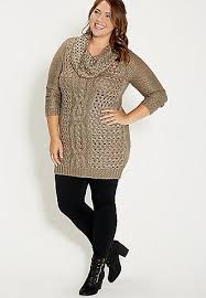 plus size cable knit sweater plus size cable knit sweater dress with cowl neck maurices