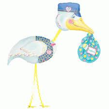 airwalker balloons delivered stork special delivery airwalker mylar balloon