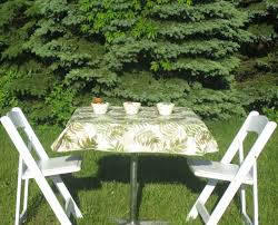 Fitted Oval Vinyl Tablecloths Vinyl Tablecloths For Picnic Tables Outdoor Patio Tables Ideas