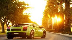 Lamborghini Gallardo Green - lamborgini gallardo green sportcar sun machine lamborghini